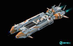 sci-fi ship design by Shantaram 05 on ArtStation. Space Ship Concept Art, Concept Ships, Stargate, Sci Fi Anime, Starship Concept, Space Engineers, Sci Fi Ships, Spaceship Design, Game Character Design