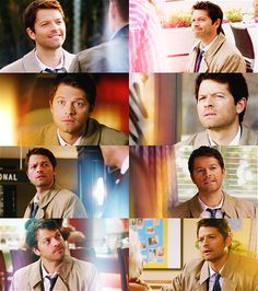 Supernatural: Castiel. I literally died from this post. I don't know how I'm writing this because. I. Died. Sooooo cuteness!!!