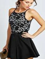 boohoo Lace Cut Shoulder Belted Flippy Playsuit - black This season all-in-ones are all- about-attitude. Look polished in a pinstripe playsuit , or play on pretty in petal prints. Slouchy styles take centre stage, sheer inserts are something to shout about http://www.comparestoreprices.co.uk/womens-clothes/boohoo-lace-cut-shoulder-belted-flippy-playsuit--black.asp