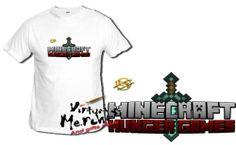 Camiseta MINECRAFT JUEGOS DEL HAMBRE LOGO ESPADA tshirt t-shirt xxl niño mujer | eBay