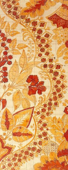 Art Quill Studio: Silk Designs of the 18th Century - Part IArtClothMarie-Therese Wisniowski