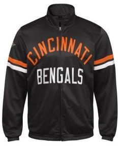 G-iii Sports Men's Cincinnati Bengals Veteran Track Jacket - Black XXL