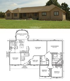 The Yukon KHT368A2 Manufactured Floor Plan by Palm Harbor Homes ...
