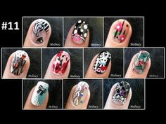 Meliney nail art design collection 19 youtubemeliney meliney nail art design collection 11 prinsesfo Gallery