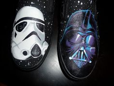 storm trooper and darth vader shoes