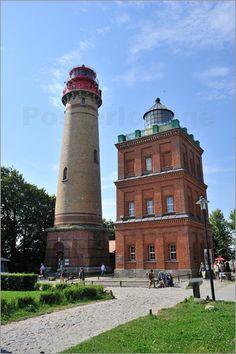 Poster Leuchtturm Kap Arkona