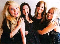 Celtic Woman: Chloe Agnew, Lynn, Hillary, Lisa Kelly, Mairead Nesbitt (photo by Renee Nowytarger)