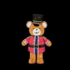 Home Accents Holiday 49 in. LED Lighted Tinsel Teddy Bear - The Home Depot Christmas Light Show, Christmas Lights, Christmas Ornaments, Christmas Ideas, Xmas, Christmas Yard Decorations, Holiday Decor, Beautiful Christmas, Home Accents