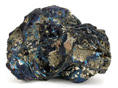 """∆ Covellite...""""Stone of Contradictions"""" Covellite aids in the development of inner intuition, psychic and magical abilities. Covellite is a high vibration crystal with energy that stimulates psychic ab..."""