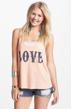 Blink 'Love' Graphic Tank