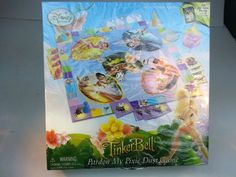 TinkerBell Pardon My Pixie Dust Game by Disney-- My favorite Disney character. Disney Fairies, Tinkerbell, Nursery Room, Board Games, Pixie, Fairy, My Favorite Things, Amazon, Disney Characters