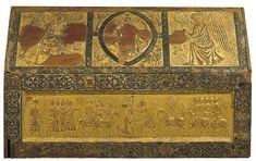 Reliquary urn of Saint Candidus Aragon, 15th Century, Gold Leaf, Beast, Vintage World Maps, Saints, Antiques, Metal, National Museum
