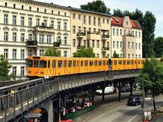 La mejor hamburguesa de Berlin y el U-Bahn