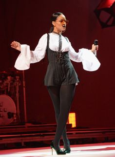 September 24: Rihanna performs at the Global Citizen Festival at Central Park in NYC