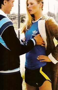 """Figures Libres"" Vogue France, November 2004 By Mario Testino track team high school athletes sports"