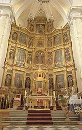 Catedral de La Magdalena de Getafe. Sus arquitectos fueron Alonso de Covarrubias y Juan Gómez de Mora. Comenzó su construcción en 1549 y se finalizó en 1770. Los estilos predominantes son el Renacentista, el Barroco y el Mudéjar de su torre, correspondiente a un templo anterior. Está considerado como uno de los mejores ejemplares de la arquitectura renacentista en la Comunidad de Madrid.