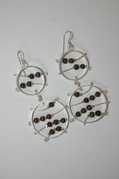 Aretes Leila, Beatriz Zuñiga diseñadora de joyas.