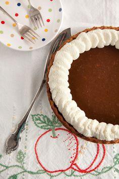 Paula Deen Apple Butter Pumpkin Pie