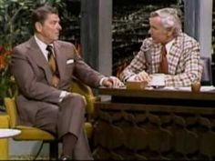 GOVERNOR REAGAN AS GUEST WITH JOHNNY CARSON - 03/15/75 Some of President Reagan's Commensence Ideas.