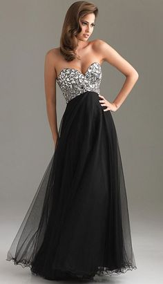 Night Moves Crushed Glass Like Beaded Prom Dress 6411 at frenchnovelty.com