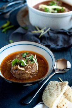 Nihari is a beef stew popular in northern India, Pakistan and Bangladesh. Nihari is a hearty beef stew that is great for fall/winter months. | rasamalaysia.com