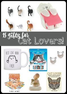 15 Gifts for Cat Lovers | #NineLivesInsiders ad
