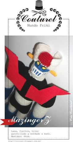 Mazinger, by Couturel