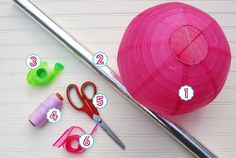 DIY tutorial Perfect for a #candythemedparty farapartydesign.com