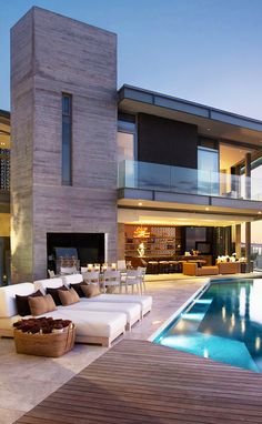 Luxury interior design inspiring ideas plus your house is going to forever shine utilizing a rare and sincere modern. Luxury Homes Dream Houses, Dream House Exterior, House Goals, Modern House Design, Home Design, Design Design, Design Trends, Home Fashion, Exterior Design