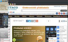 Web-site ECTACO Ceska s.r.o.: www.cz-slovnik.cz