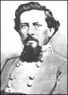 Brig-Gen. Preston Smith (25.12.1823|19.9.1863) Colonel of militia rgt 5|1861, mustered into CSA as 154th Tennessee Volunteer Infantry Regiment; 17.8.1861. Severely wounded at Shiloh. Commanded brigade at Richmond, Ky, then division after Cleburne wounded. At Battle of Chickamauga, rode in front of Union Army detachment during an attack at dark, mortally wounded in the chest.