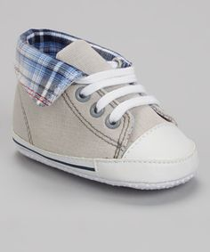 This Gray Fold-Over Hi-Top Sneaker is perfect! #zulilyfinds