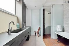 Now you can honestly brag that you've seen Anderson Cooper's penthouse bathroom. (via http://ny.curbed.com/archives/2012/03/01/anderson_cooper_lists_midtown_penthouse_for_375_million.php)