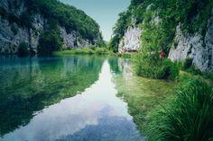 It's a water Portl in Plitvice Lakes - Croatia