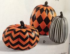 Fall pumpkins (paint idea)