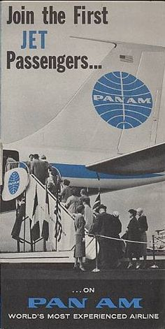1959 Information on the first jets to join the Pan Am fleet.