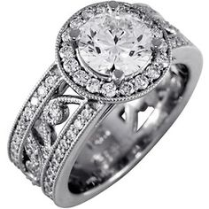 This lovely halo ring is a re-imagination of the Flora Band. A vine of pave-set diamonds and milgrain details scrolls between two brilliant diamond bands. Diamond Bands, Diamond Jewelry, Diamond Cuts, Brilliant Earth, Brilliant Diamond, Custom Jewelry Design, Custom Design, Beautiful Rings, Ring Designs