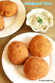 Mangalore Buns - A very popular snack from Mangalore Udupi Region. It's unique way of using over ripe bananas as deep fried puris. Mildly sweet and spongy textured puri is exceptionally good during monsoon.