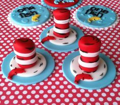 Suess Cupcake Toppers