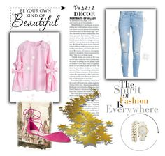 """Pastel"" by samariapretty on Polyvore featuring Charlotte Russe, Chicwish, Gap and WALL"