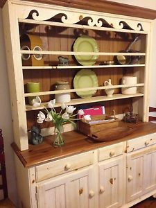 Image Gallery Website Ethan Allen Farmhouse Pine China Hutch Cabinet