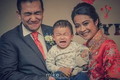 Cora, Wei Hao and son Rayfe | Wedding photography at Lochside House Hotel