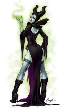 Maleficent by Elias Chatzoudis *