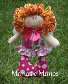 Fada Flor Teddy Bear, Christmas Ornaments, Toys, Holiday Decor, Style, Flower Fairies, Baby Dolls, Activity Toys, Swag