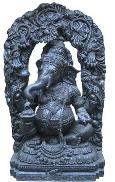 Artificial Stone - Ganesha Sculpture
