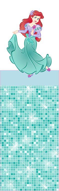 Ariel: Envoltorios Especiales para Golosinas, para Imprimir Gratis.