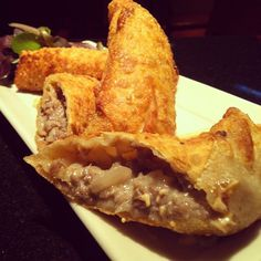 Cheesesteak Eggrolls. These aren't on the menu, just something we like to feature every so often.
