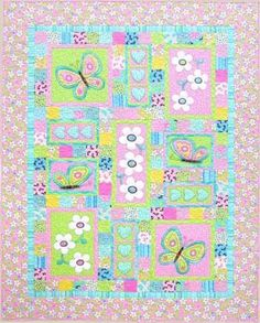 Oops-a-Daisy - by Kids Quilts - Quilt Pattern