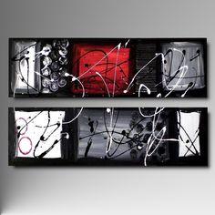 Resultado de imagen para quadri moderni astratti bianco e nero