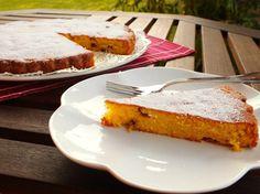 torta ricotta e pinoli - fetta